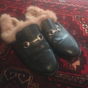 Gucci Fur Slippers